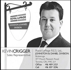 Kevin Crigger, Royal LePage Ltd, Real Estate
