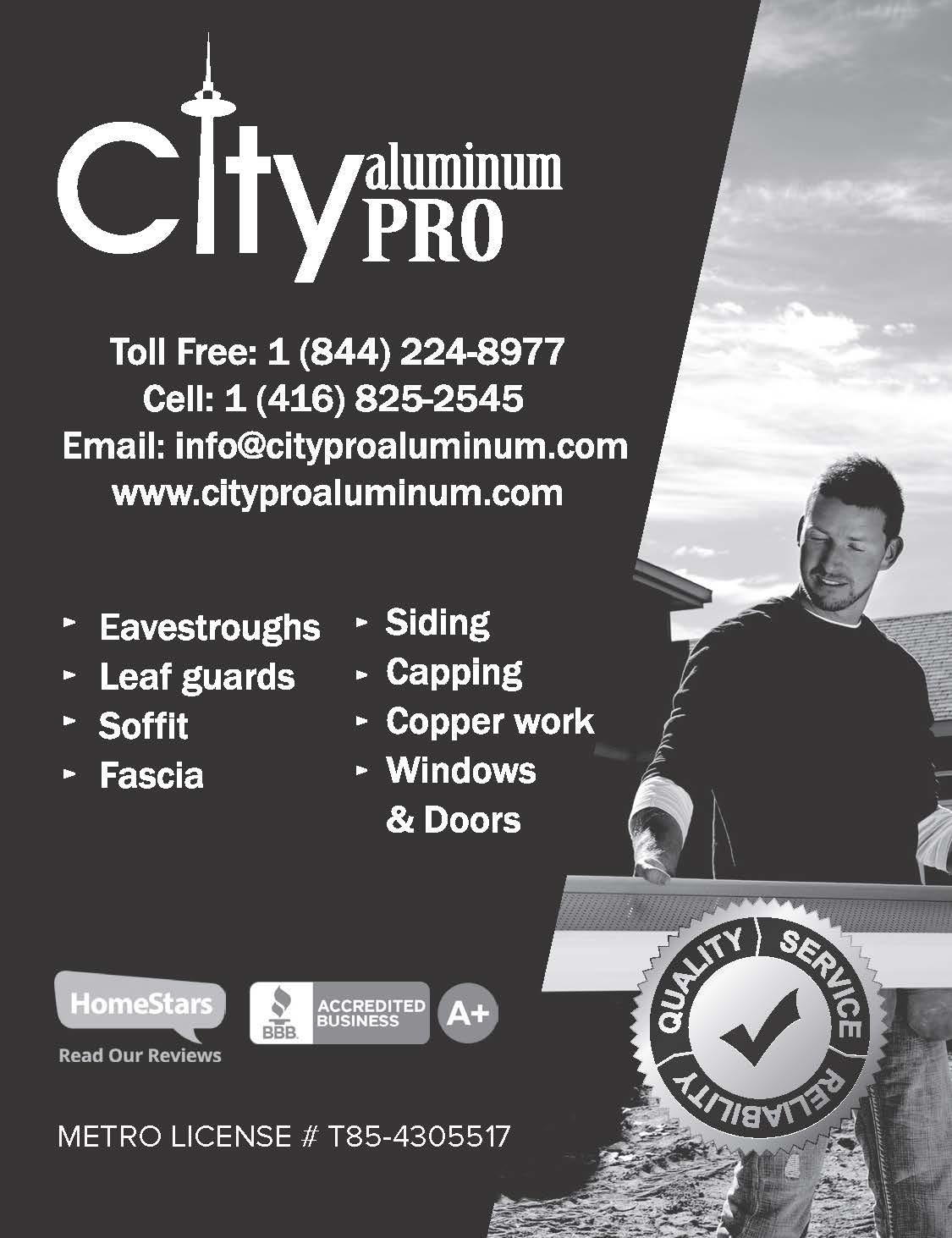 City Pro Aluminum