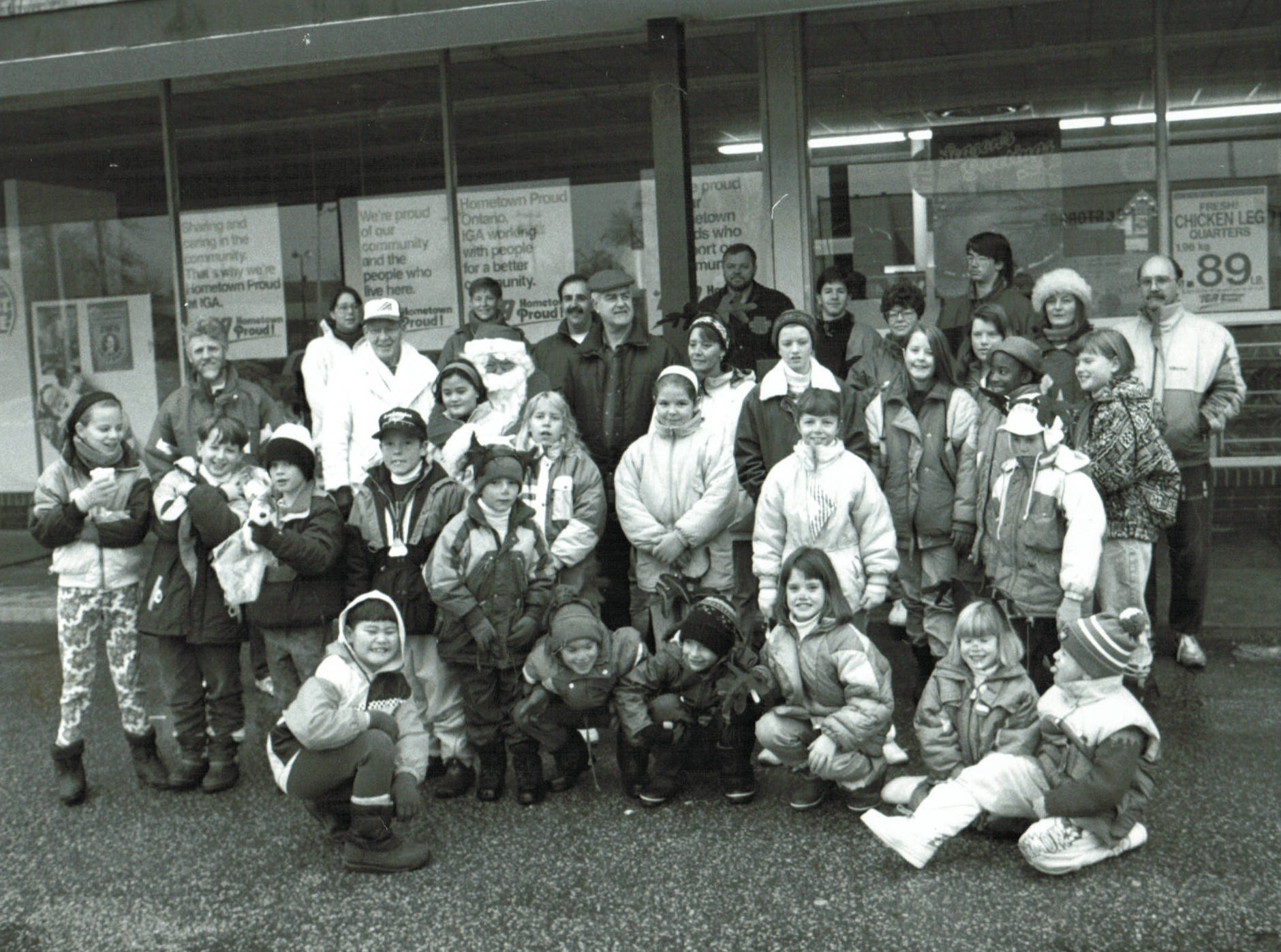 MWHA Christmas Caravan & Food Drive continued in the 1970's