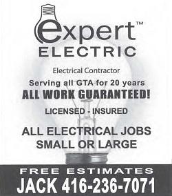 Expert Electric, Electrical Contractors