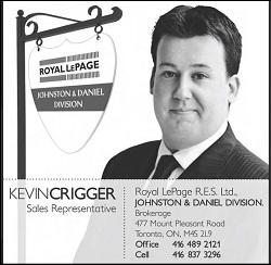 Kevin Crigger, Royal LePage Ltd, Real Estate