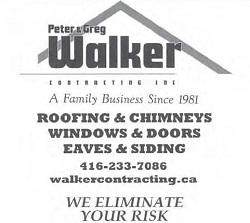 Walker Roofing, Chimneys, Windows, Doors, Eaves & Siding